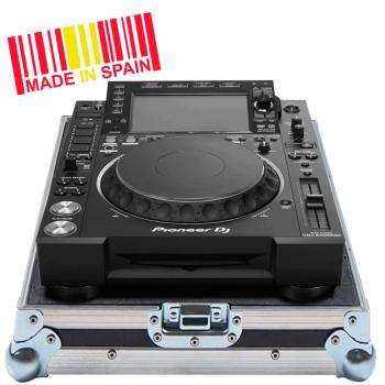 Walkasse WC-CDJ2000NXS2-ESP Flight Case Compact disc Pioneer Dj CDJ-2000NXS2 Plata