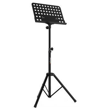 Audibax SP3 Atril De Orquesta Soporte Partitura Negro Premium