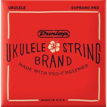 Dunlop DUQ301 Juego de Cuerdas Ukelele Soprano Pro