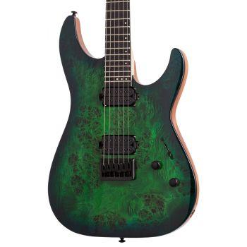 Schecter C-6 PRO Aqua Burst. Guitarra Eléctrica