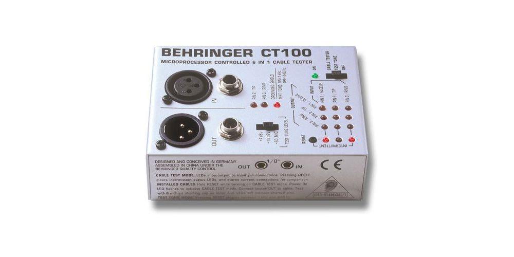 BEHRINGER CT100 Tester Cable Behringer CT-100 Und