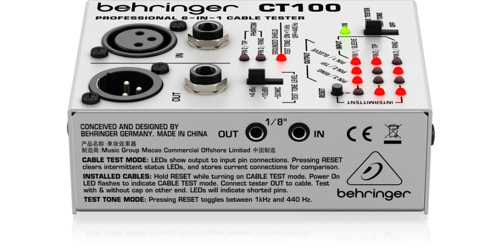 behringer CT 100 control cable