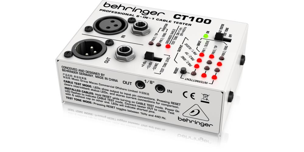 behringer CT100 controlador cable
