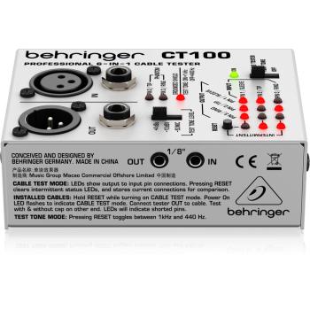 BEHRINGER CT100 Tester Comprobador de Cables