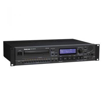 TASCAM CD-6010 CD Profesional Broadcast 2U CD Tipo Bandeja