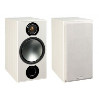 MONITOR AUDIO BRONZE 2 White Ash Pareja