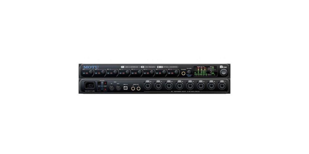 motu interface audio 8pre usb
