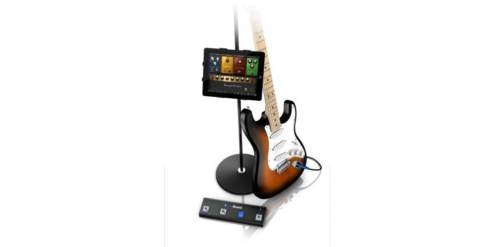 ik multimedia irig blueboard conexion guitarra