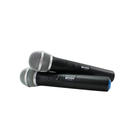 GEMINI VHF-02M S4/8 Microfono Inalambrico Doble Mano