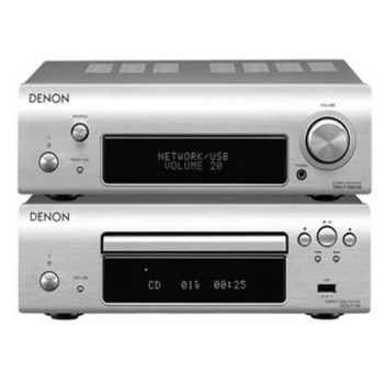 DENON DF-109-Silver Microcadena + Altavoces Bose AM3  White