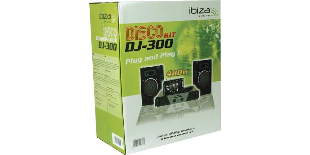 Ibiza Sound DJ 300 Sistema PA