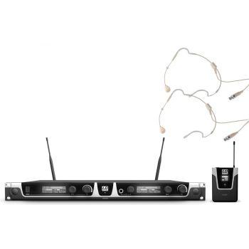 LD SYTEMS U508 BPHH2 Sistema inalámbrico con 2 Micrófonos de Diadema
