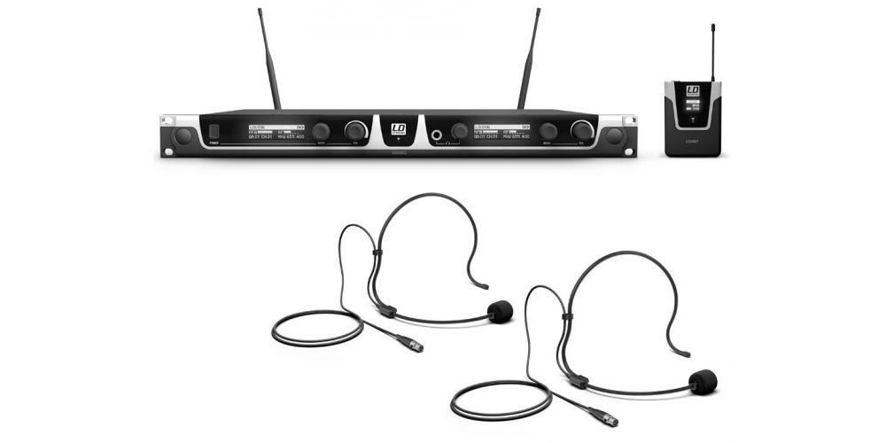 microfono inalambrico doble U506BPH2