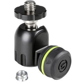 Gravity MS QT 1 B Adaptador de micrófono Quick Tilt con rótula
