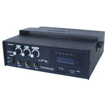 LTC PAA 60USB Amplificador de Megafonia