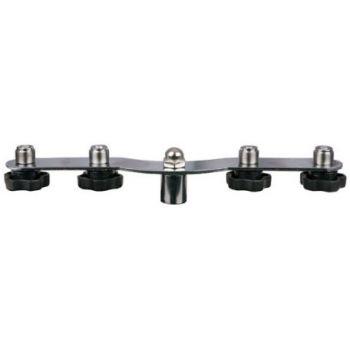 DAP Audio Soporte para 4 microfonos tipo T D8962