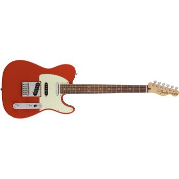 Fender Deluxe Nashville Telecaster Pau Ferro Fingerboard Fiesta Red