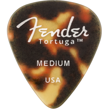 Fender Tortuga Picks 351 Medium 6 unidades Shell