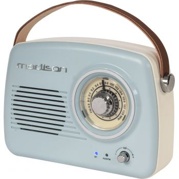 Madison FreeSound VR30 Radio Vintage Autonoma cob Bluetooth y Radio
