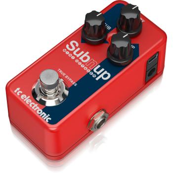Tc electronic Sub n Up Mini Octaver, Pedal -