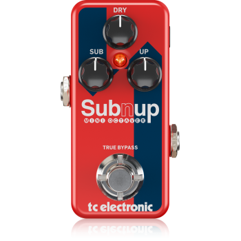 Tc electronic Sub n Up Mini Octaver Pedal Efectos
