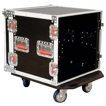 Gator G-TOUR-10UCAST Flightcase de Madera con Ruedas para 10 Unidades de Rack