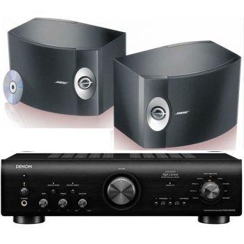 Denon PMA-800AE Black+BOSE 301, Conjunto Sonido