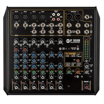 RCF F10XR Mesa de Mezclas con Efectos e Interfaz USB