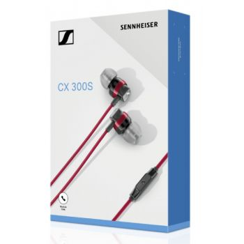 Sennheiser CX 300s Red Intrauricular