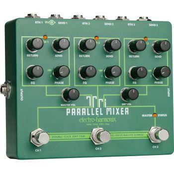 Electro Harmonix Tri Parallel Mixer Pedal Efectos