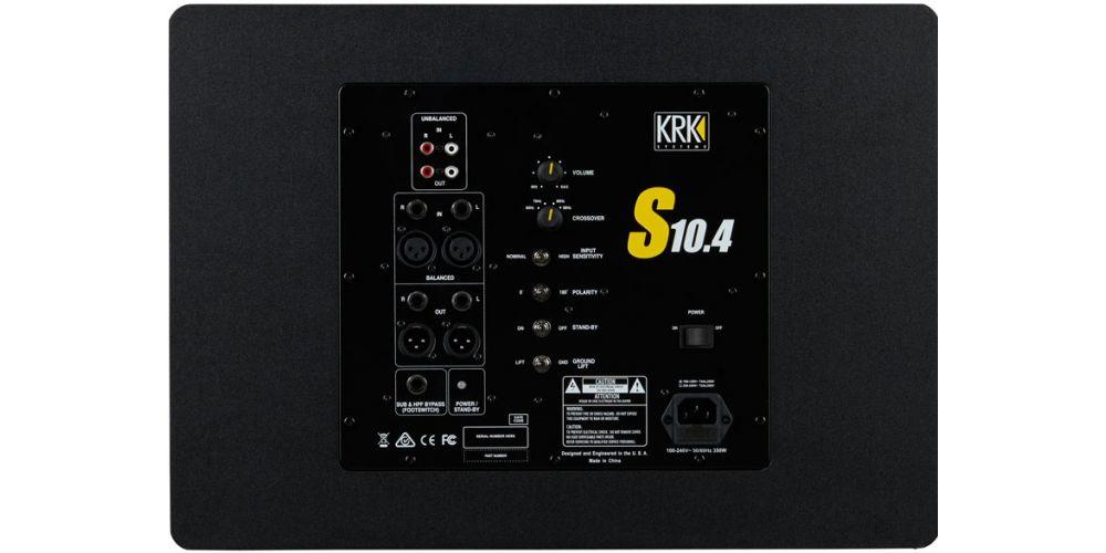 comprar KRK S10 4 Subwoofer de Estudio Activo