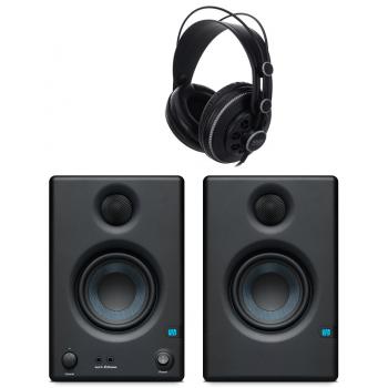 Presonus ERIS E3.5 Monitores + Auriculares Superlux HD681B