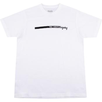 Bigsby True Vibrato Stripe T-Shirt White Talla M