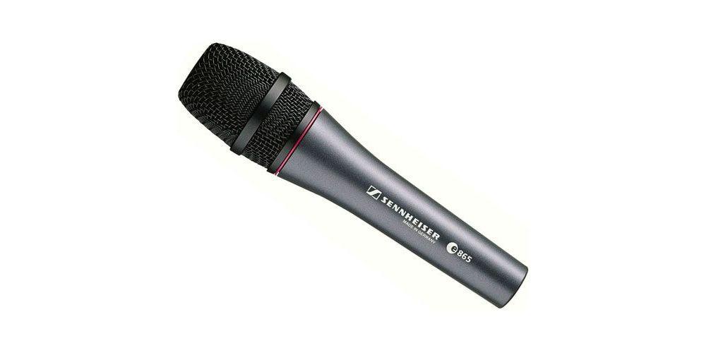 Sennheiser E-865 Microfono Vocal Super Cardiode Condensador  , E865