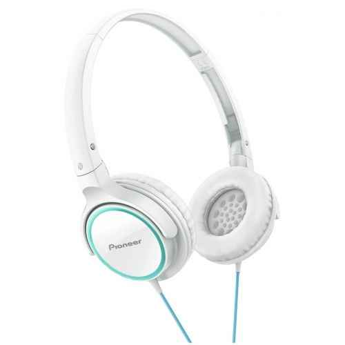 PIONEER SE-MJ512-PW Auriculares Cerrados Blanco Rosa