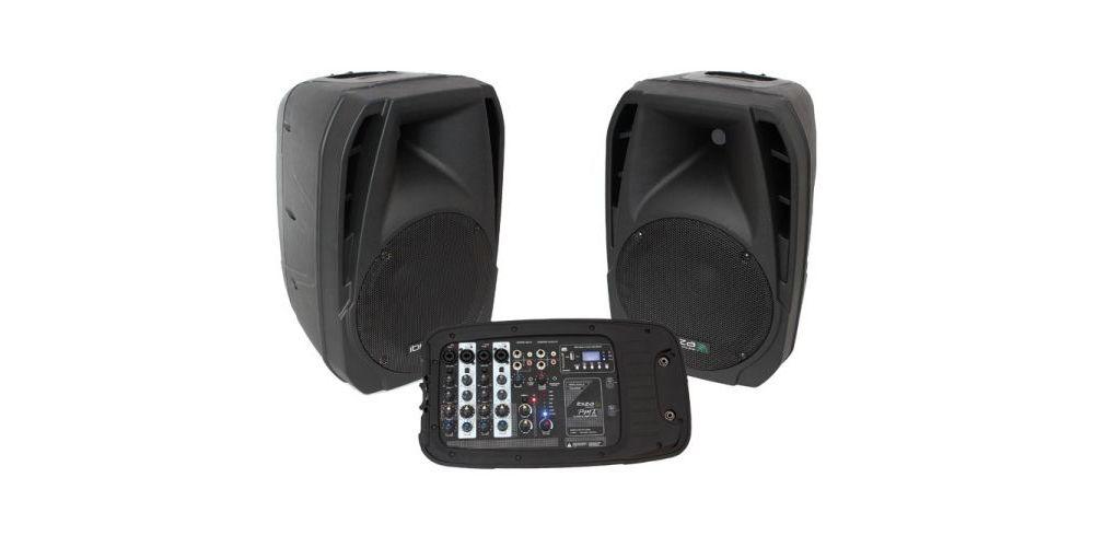 IBIZA SOUND COMBO210, Conjunto Sonorización 10 Pulgadas, 300 W