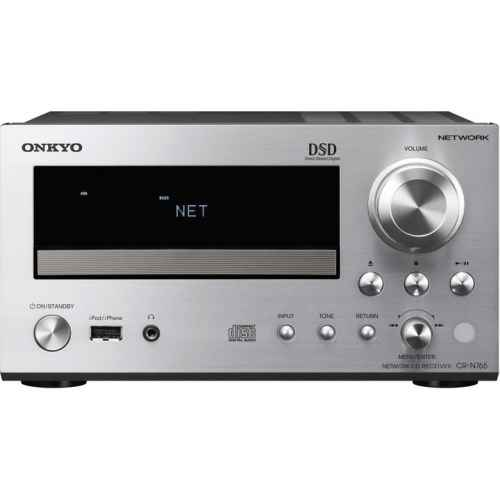 ONKYO CR N765S equipo cd silver