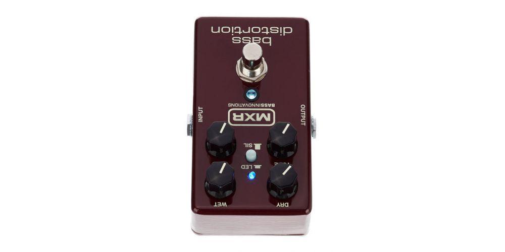 dunlop mxr m85 bass distortion back