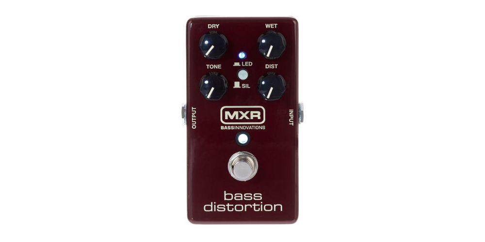 dunlop mxr m85 bass distortion front
