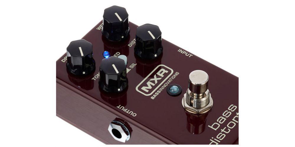 dunlop mxr m85 bass distortion knob