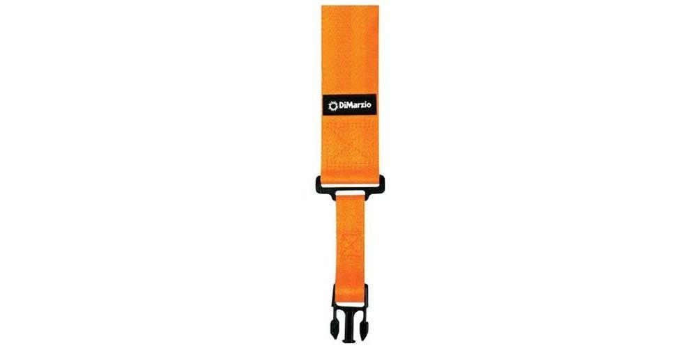 DiMarzio DD2200OR Nylon ClipLock Naranja Neon