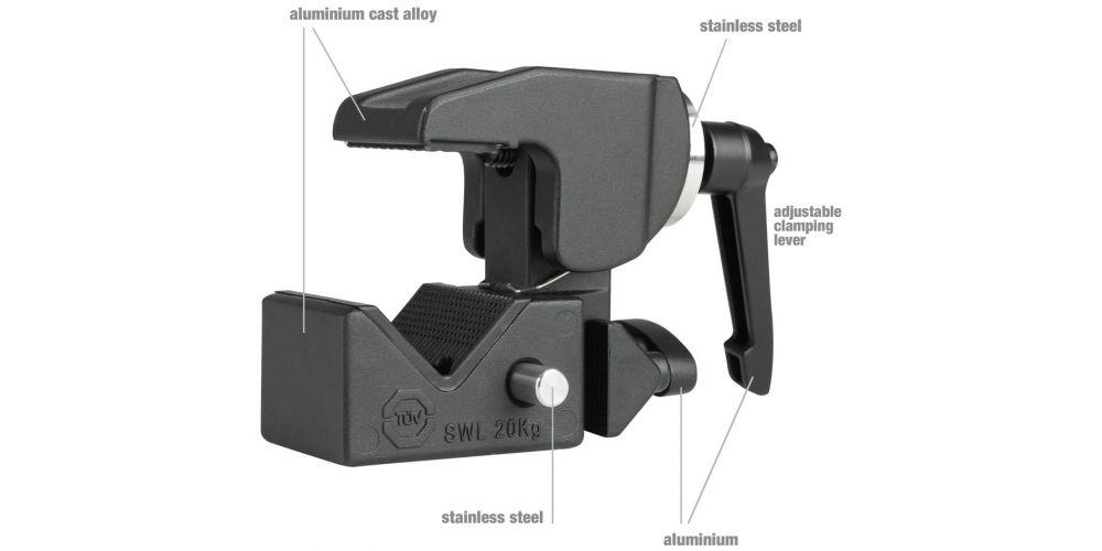 LD Systems New Curv 500 TMB Pinza