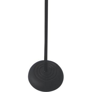 Pie de Microfono de Base Redonda con Pulsador, STANDMIC-BASE-AUT, MH