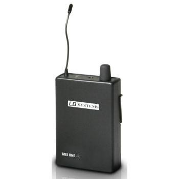 LD Systems MEI ONE 1 BPR Receptor para Sistema de Monitoraje Inalámbrico In-Ear LD MEI ONE 1 863,700 MHz