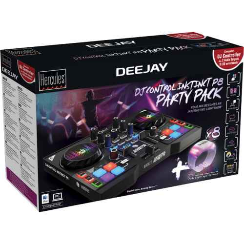 Comprar Hercules Dj Control Instinct P8 Party Package