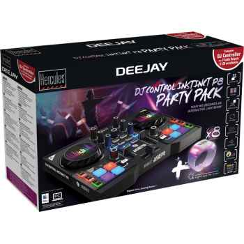 Hercules Dj Control Instinct P8 Party Pack