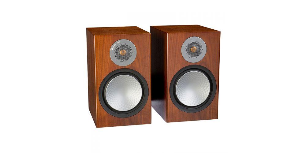 monitor audio silver 100 walnut
