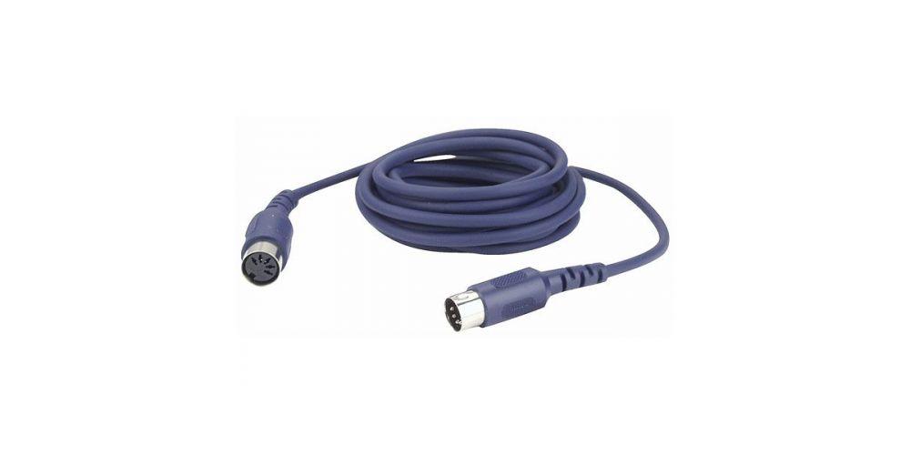 dap audio fl52 cable midi 3 metros