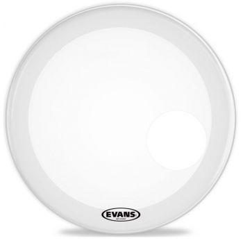 Evans 26 EQ3 Coated White Parche de Bombo BD26RGCW