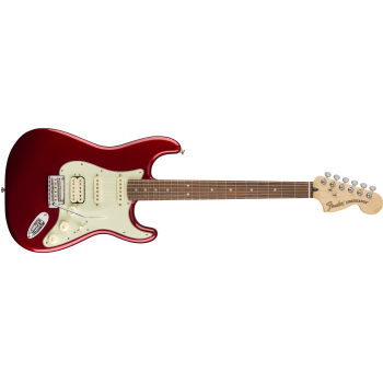 Fender Deluxe Stratocaster HSS Pau Ferro Fingerboard Candy Apple Red